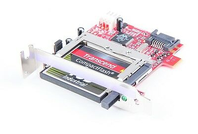 Addonics ADSACF-7MS SATA-to-CF Card Reader Adapter - 4GB CF-Karte - low profile