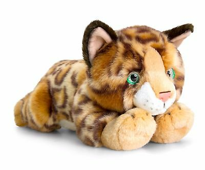 Keel Toys Signature 30cm Bengal Cat / Kitten Cuddly Plush Soft Toy Teddy SC0952