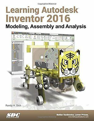 Learning Autodesk Inventor 2016,PP,Learning Autodesk Inventor 2016 - NEW