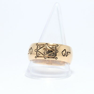 Talisman Beautiful Ring LP Kuay Wat Kositaram Thai Buddha Powerful Amulet.