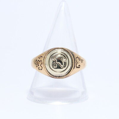 A ring by Namo Protection from dangers Behind the talisman ,Amulet Brass ring.