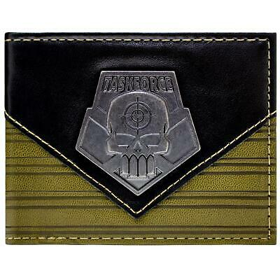 New Official Suicide Squad Deadshot Task Force Brown Id & Card Bi-Fold Wallet