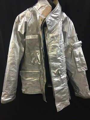 FIRE GEAR Firefighter Proximity Jacket Turnout P41FVB 42R 46 46R 58R Excellent