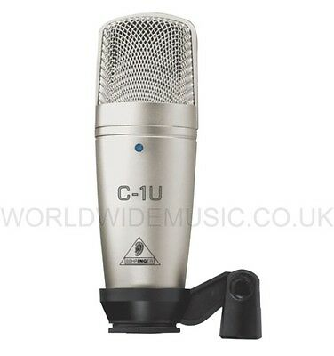 Behringer C-1U USB Version Studio Condenser Microphone with Audio Interface