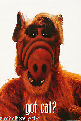Lot Of 3  Posters :tv: Alf - Alf Got Cat ?   Free Shipping !    #24-099   Rp76 R