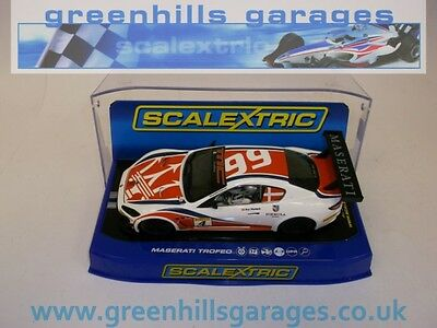 Greenhills Scalextric Maserati Trofeo, Trofeo World Series 2013 No 4 C3572 BNIB