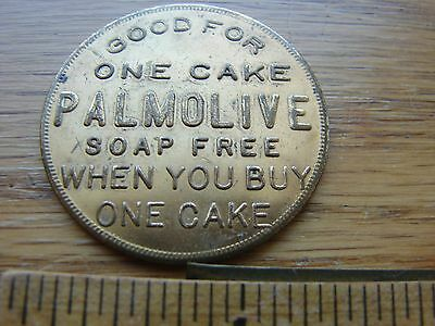 Vintage Palmolive Soap token- Good for one cake soap free- Palmolive-Peet Co.