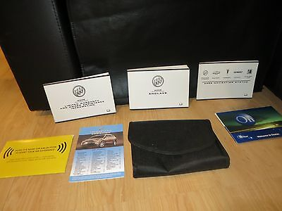2008 buick enclave owners manual book set oem with navigation 2008 buick enclave owners manual book set oem with navigation onstar kit sciox Gallery