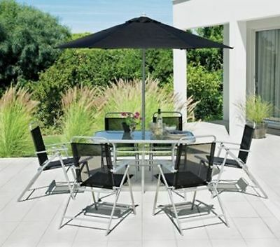 Pacific Garden Patio Furniture Set Outdoor Table And Chairs Bench Ornaments