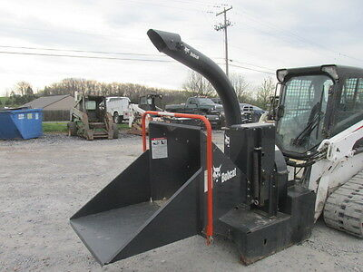 2010 Bobcat WC-8A Wood Chipper Attachment For Skid Steer Loaders!
