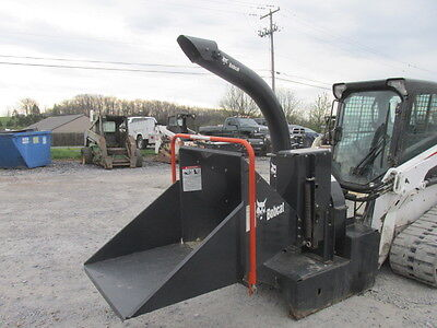 2010 Bobcat Wood Chipper Attachment For Skid Steer Loaders!