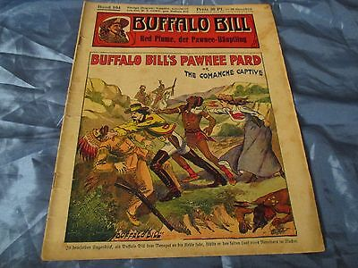 BUFFALO  BILL , Held des Wilden Westens , Band 104 , Romanheft 1932 / 1933