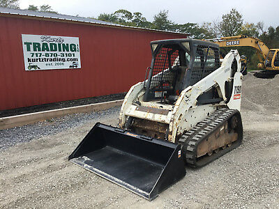 2005 Bobcat T190 Tracked Skid Steer Loader w/ Cab & High Flow!