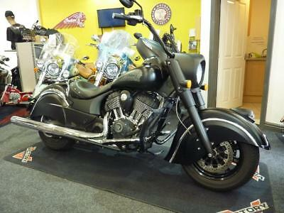Indian Chief Dark Horse 2016 Only 3103 Miles In Satin And Matte Black