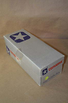 Converse WHITE Vintage Chucks MADE IN USA Mens 9 w Box Vtg Worn