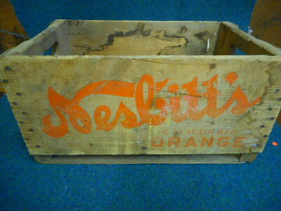 Vintage Nesbitts California Orange Soda Crate Canada 6 Packs