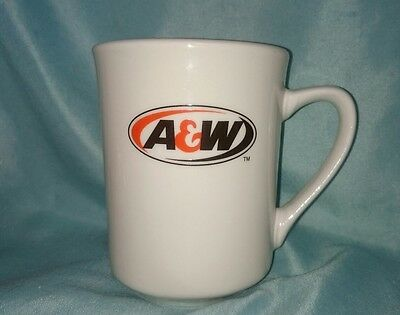 A & W Coffee Mug Ceramic Cup A&w Root Beer