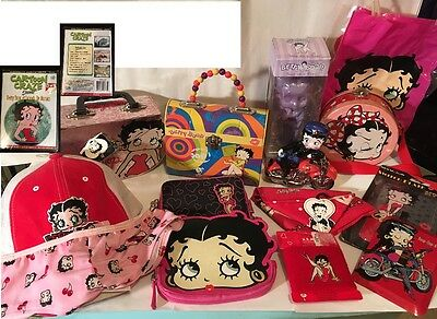 Betty Boop Merchandise New  Lot of 15 Items