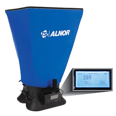 TSI Alnor EBT731 Balometer Air Balancing Instrument with Capture Hood