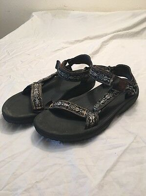 Men's Teva 6584 Size 9 Sport Trail Water Sandals Hiking
