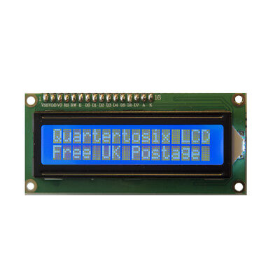 LCD 16x2 Display Blue 1602 plus header Arduino Rasp Pi UK Seller Free Postage