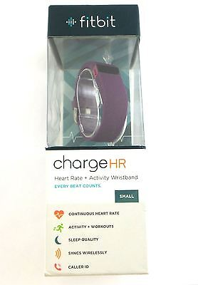 Fitbit Charge HR Wireless Activity Sleep Tracker and Heart Rate Small Wristband