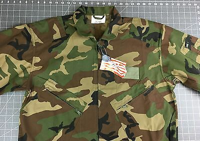 NEW Mens Large Rothco Military Flight Suit Air Force Style Coveralls Camouflage