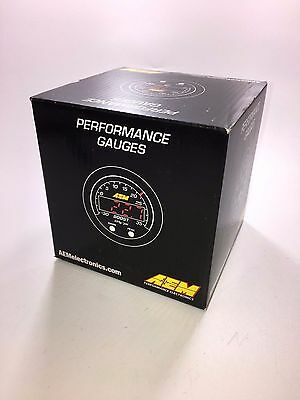 AEM 30-0302 X-Series Temperature Gauge NEW SEALED --1 DAY SHIPPING