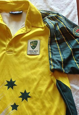 AUSTRALIAN CRICKET SHIRT VB , men's XXL