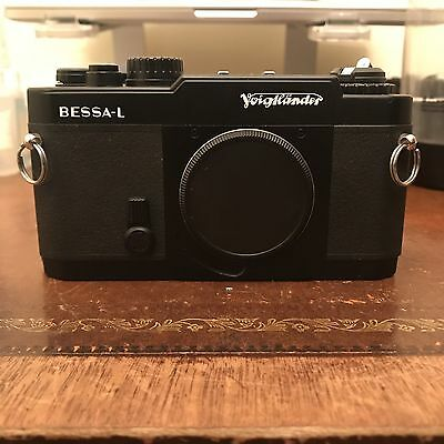 Voigtländer L 35mm Rangefinder Film Camera Body Only Black Leica M39 LTM