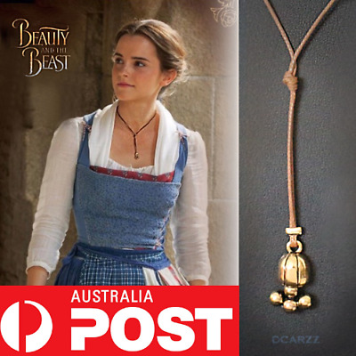 Disney Beauty and the Beast Belle Princess Lariat Choker Necklace Cosplay Wrap
