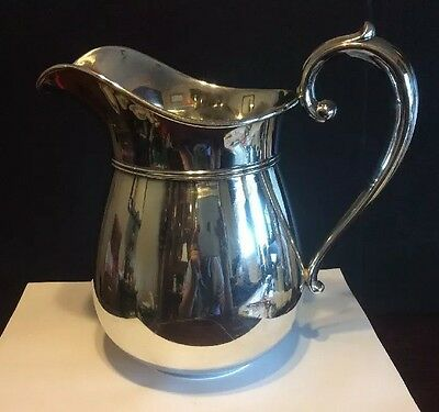 Manchester Sterling Silver Hollowware 1009 Water Pitcher 4 1/2 Pint