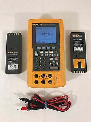 Fluke 744 Documenting Process Calibrator / 2 Extra Battery / Leads!!!