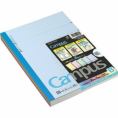 Kokuyo Campus Notebook Semi B5 9.8�~ 76 mm35 Lines X 30 SheetsPack of 5