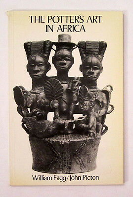 POTTER'S ART in AFRICA African Tribal Terracotta Pottery Sculpture WILLIAM FAGG