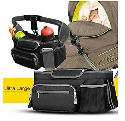 Baby Stroller Organizer Buggy Cup Bottle Drink Food Holder Storage Bag Gift New
