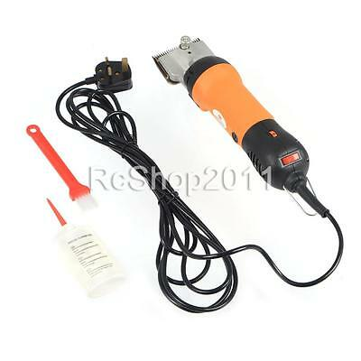 350W Pro Electric Pet Horse Cattle Farm Clipper Shearing Grooming Trimmer Blades