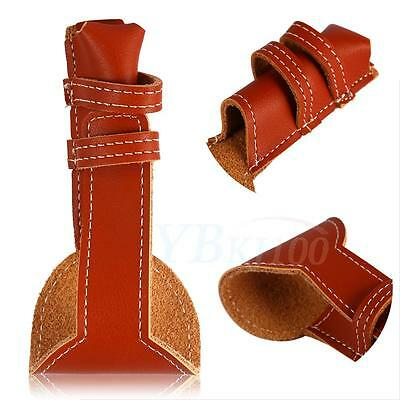 Brown Genuine Leather Case Safety Razor Double Edge Shaving Pouch Holder ZY
