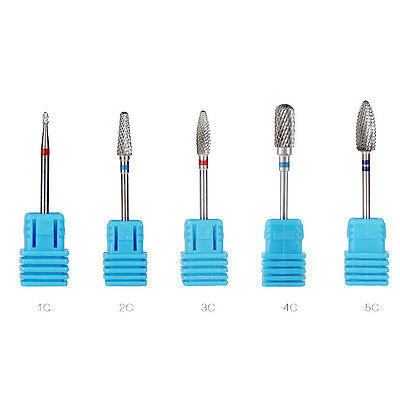 1Pc Prof Embout Bit Foret Ponceuse Ongle Polissage Polissoir Manucure Drill Nail