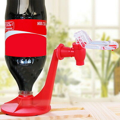 Red Portable Drinking Soda Gadget Coke Party Drinking Dispenser Water Machine