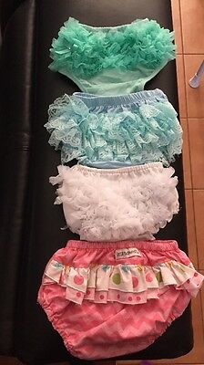 4 X Times Nappy Covers Sz 0-2