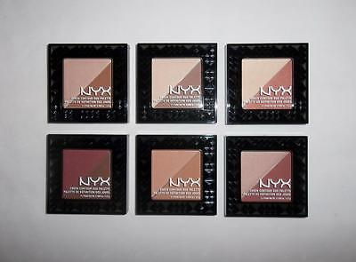 NYX Cosmetics Cheek Contour Duo Palette Compact 5g YOU CHOOSE