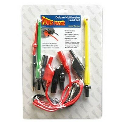 Power Probe Deluxe Multimeter Lead Set - PPLS03