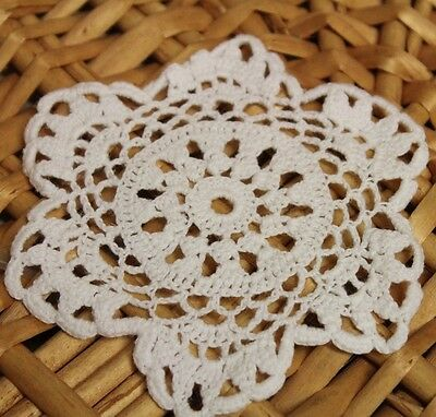 New! Irish 12 PACK Cotton Traditional Table Linen Lace Doilies Coaster Handmade