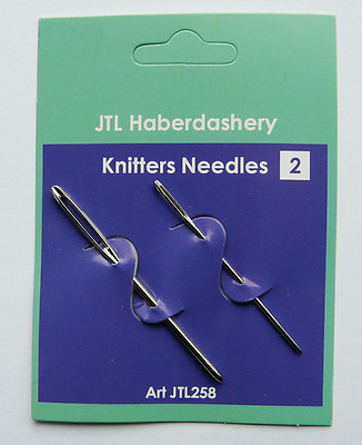 New pack of 2 knitters needles - sewing needles for knitting …