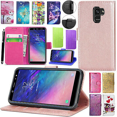 For Samsung Galaxy J3 (2016) -  Wallet Leather Case Flip Stand New Phone Cover