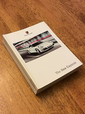 2009 Porsche Cayman Sales Brochure New Never Circulated