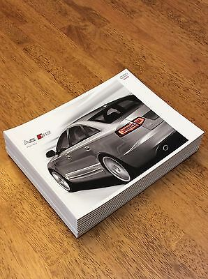 2009 Audi A6 S6 Sales Brochure New Never Circulated