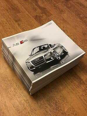2010 Audi A5 S5 Cabriolet Sales Brochure New Never Circulated