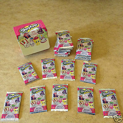Topps Shopkins Spk Squad Trading Cards 8 Cards Per Packet Brand New Sealed Packs